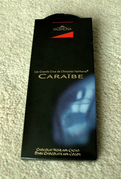 Valrhona Grand Cru Caraibe in package