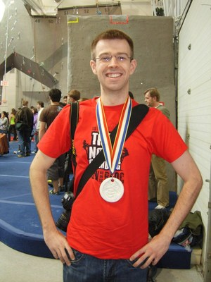 Me and my silver medal