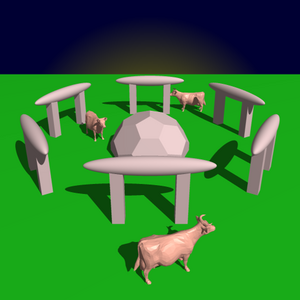 Ray tracer sample 3